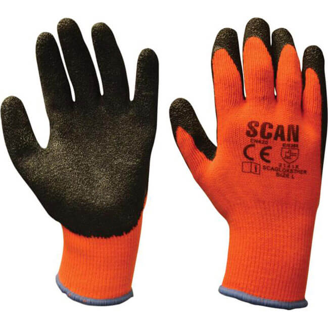 Image of Scan Knitshell Thermal Gloves L