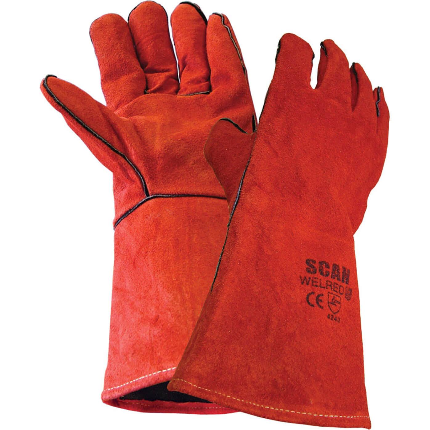 Image of Scan Welders Gauntlet Gloves XL
