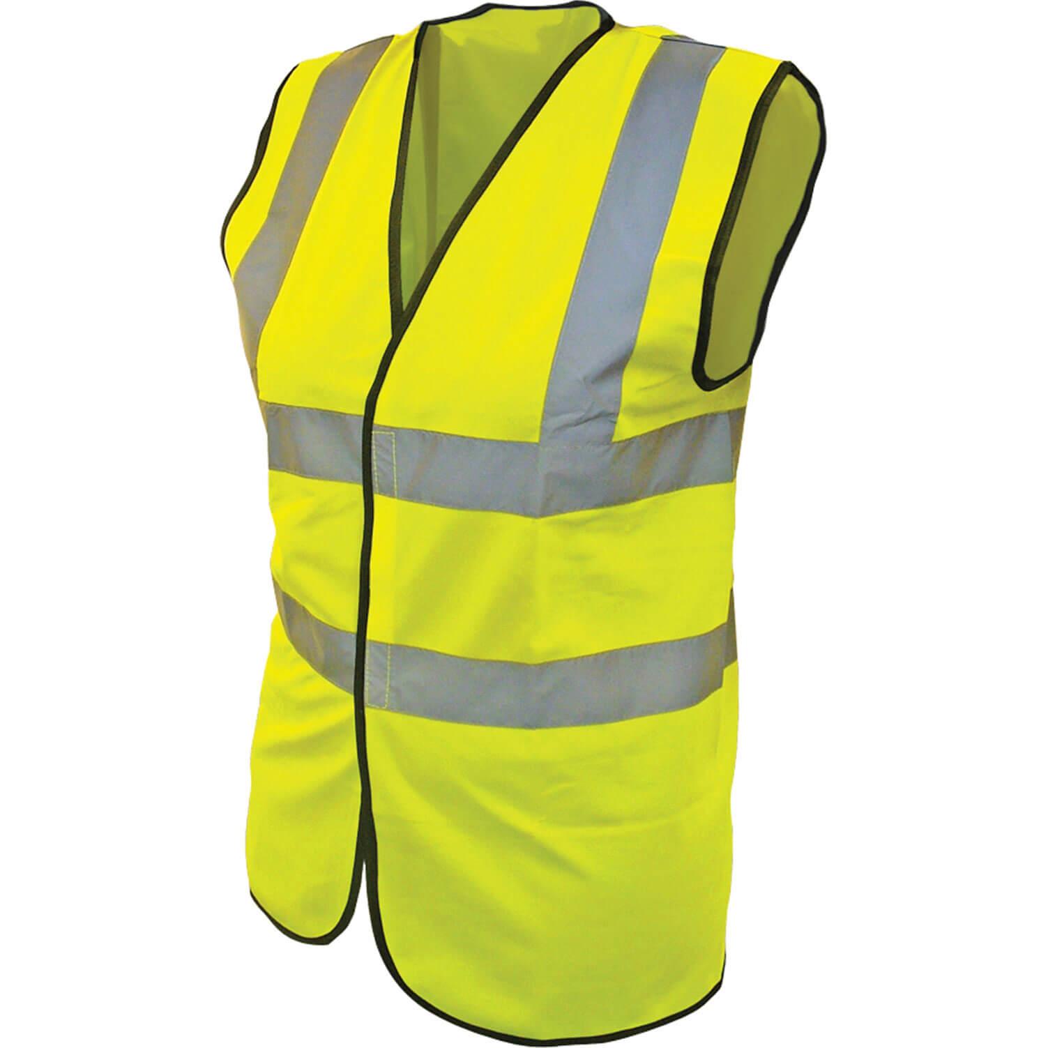 Scan Childrens High Vis Waistcoat EN471 Class 2 Yellow 10 - 13