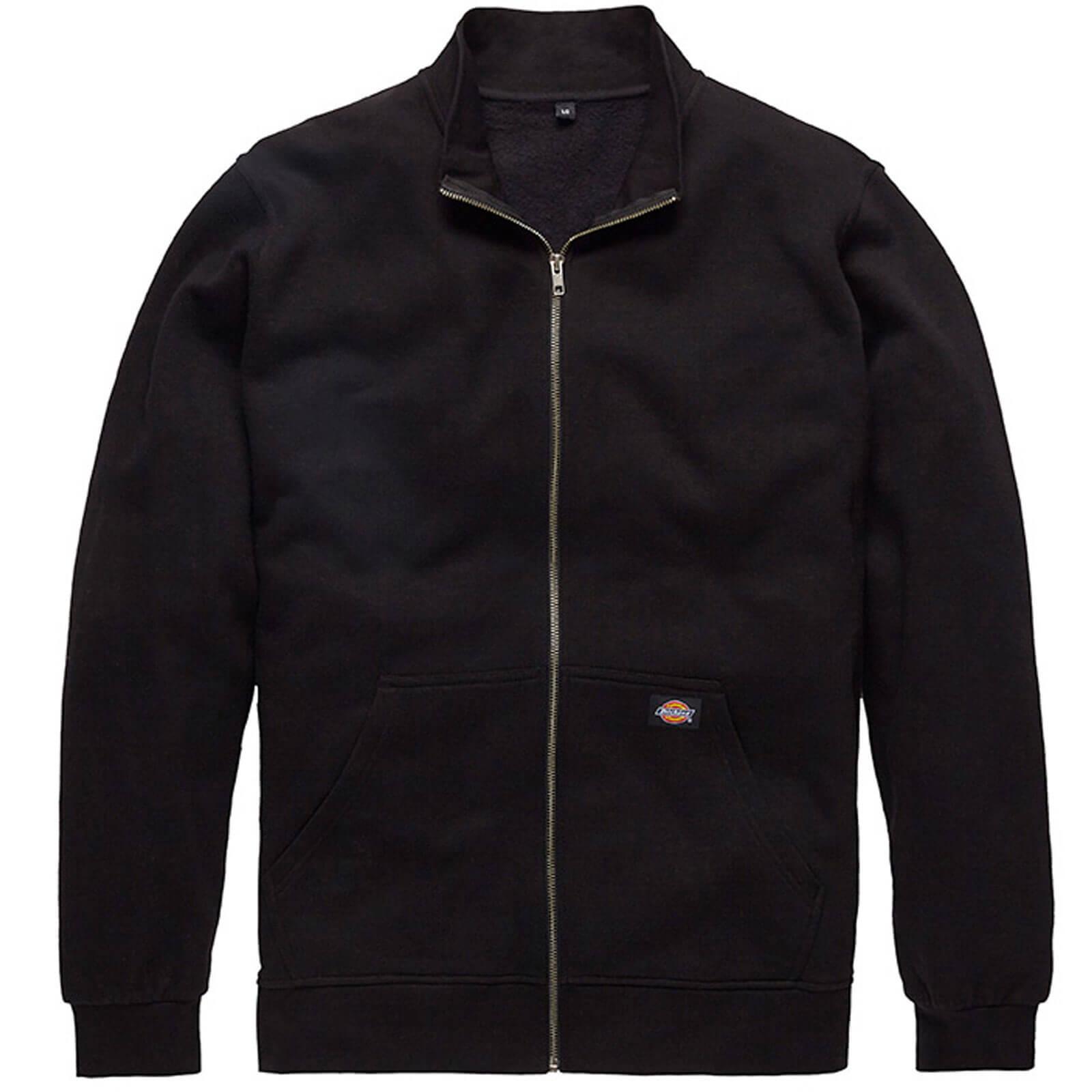 Image of Dickies Edgewood Zip Sweat Black 2XL