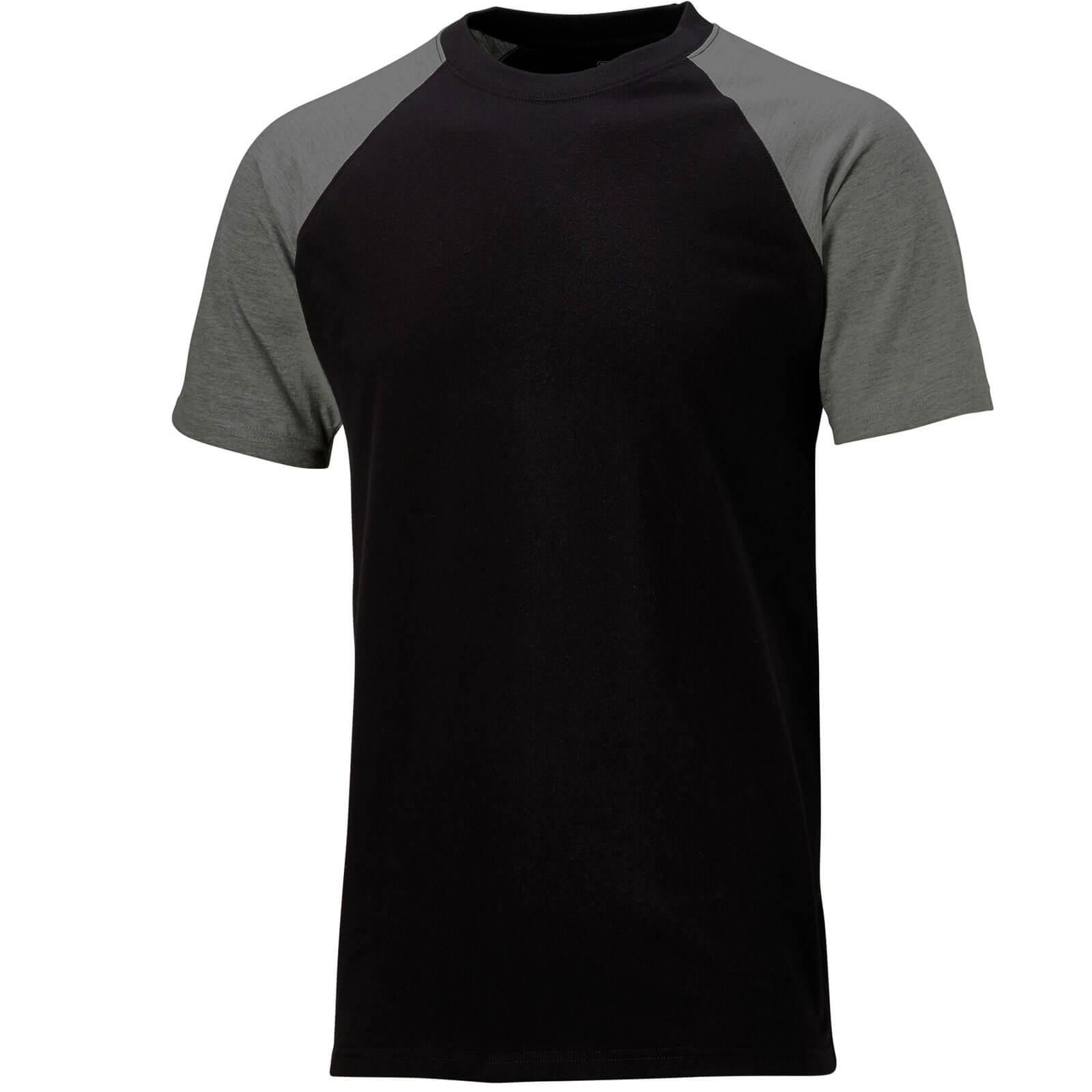 Dickies Two Tone T-Shirt Black  Grey 2XL