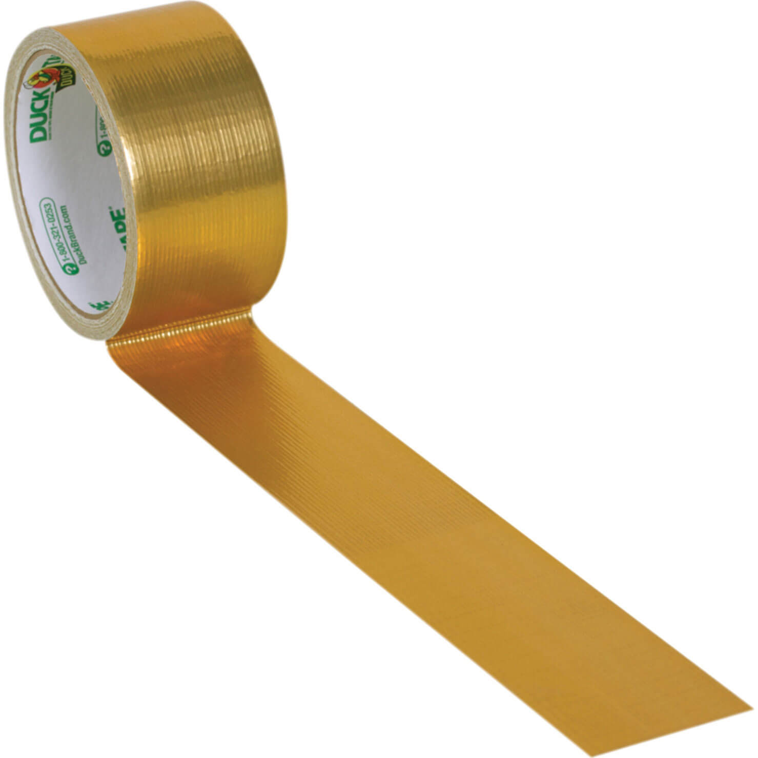 Image of Shure Multi Coloured Duck Tape 24 Carat Gold