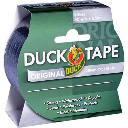 Shur Original Duck Tape Silver 50mm 25m