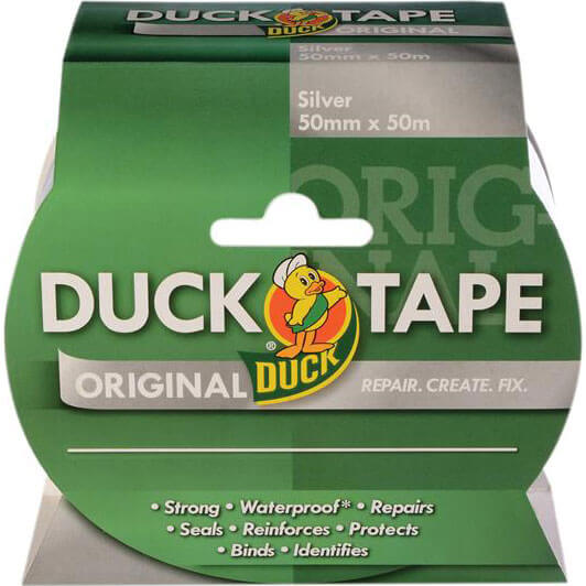 Image of Shure Original Duck Tape Silver 50mm 50m