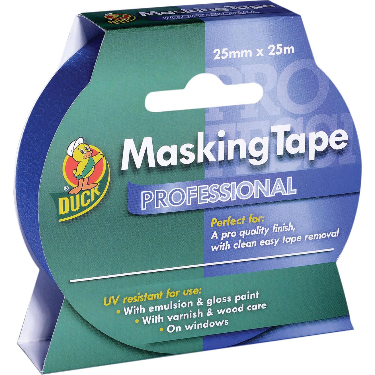 Duck Tape Professional Masking Tape Blue 25mm 25m