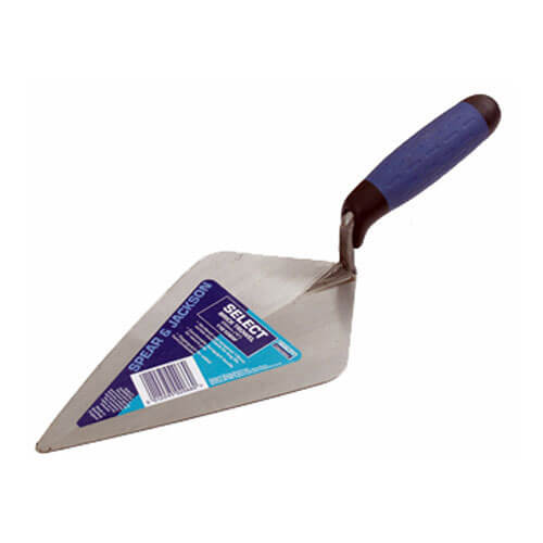 Image of Spear & Jackson Broad Heel Brick Trowel 10""