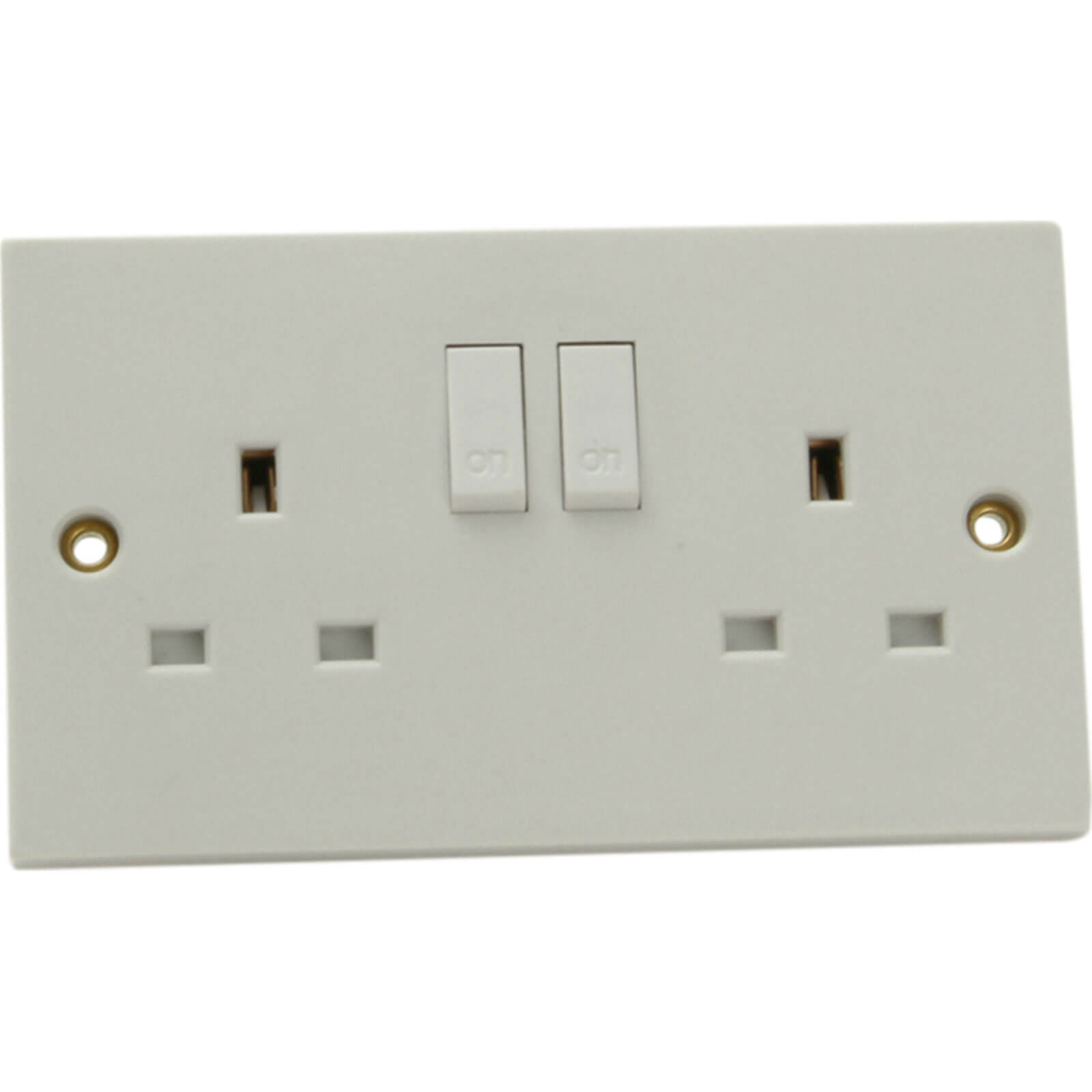 Image of Smj 2 Gang 13Amp Switched Socket 240v