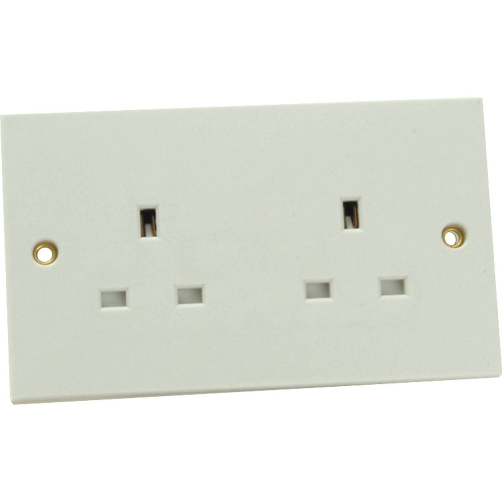 Image of Smj 2 Gang 13Amp Unswitched Socket 240v