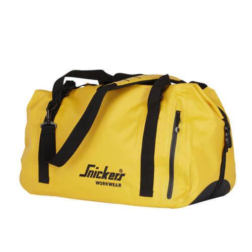 Image of Snickers Mens Waterproof Duffel Bag Yellow