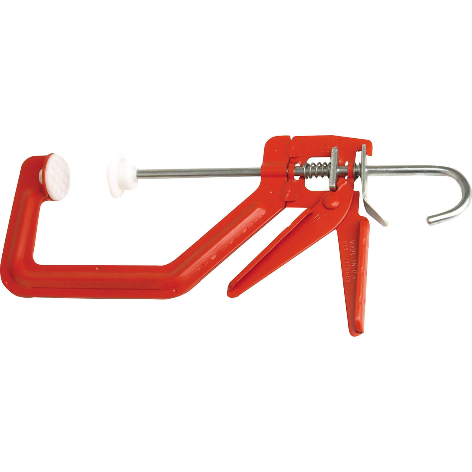 Click to view product details and reviews for Cox Solo One Handed G Clamp Plastic Feet 100mm.