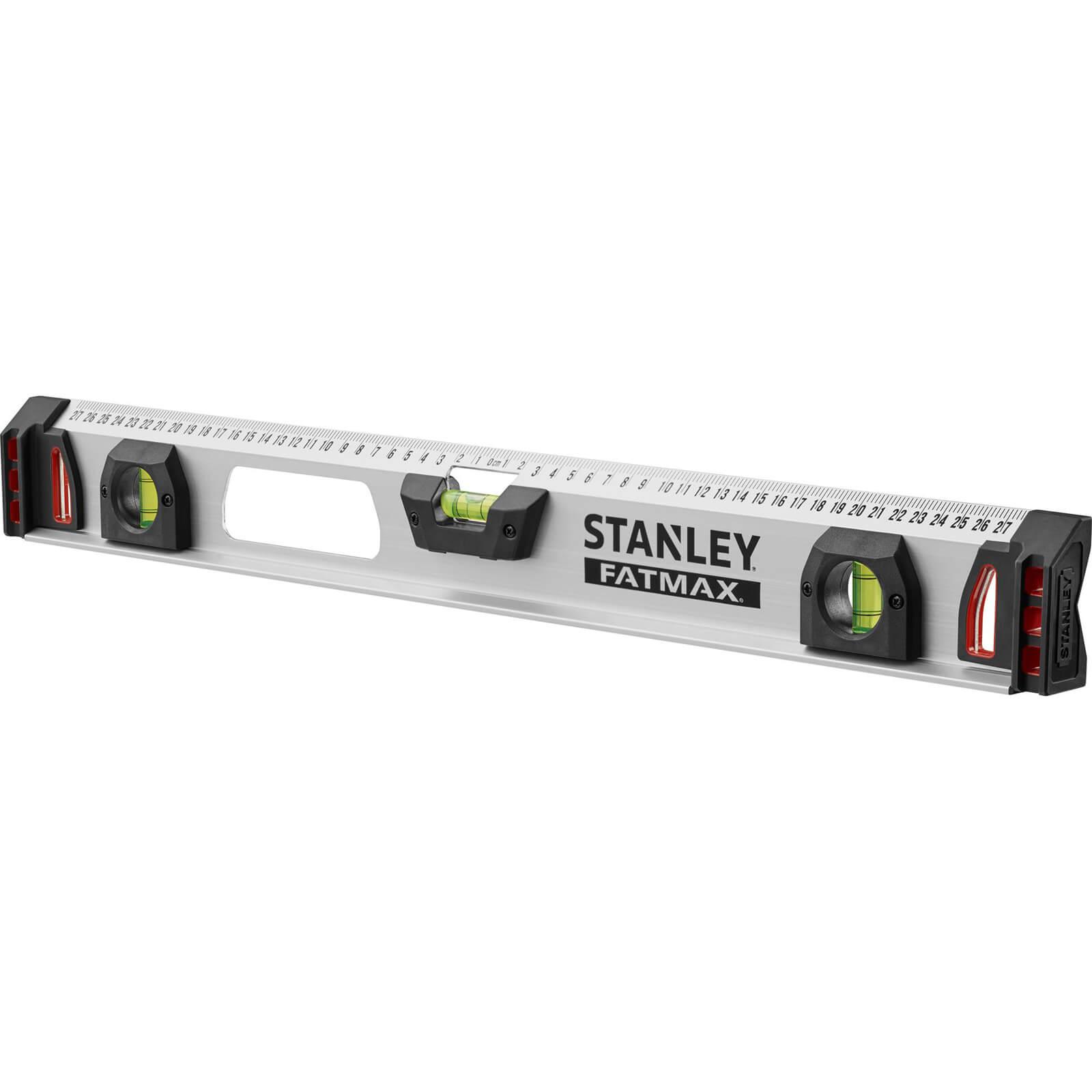 stanley fatmax magnetic i beam spirit level 48 120cm. Black Bedroom Furniture Sets. Home Design Ideas