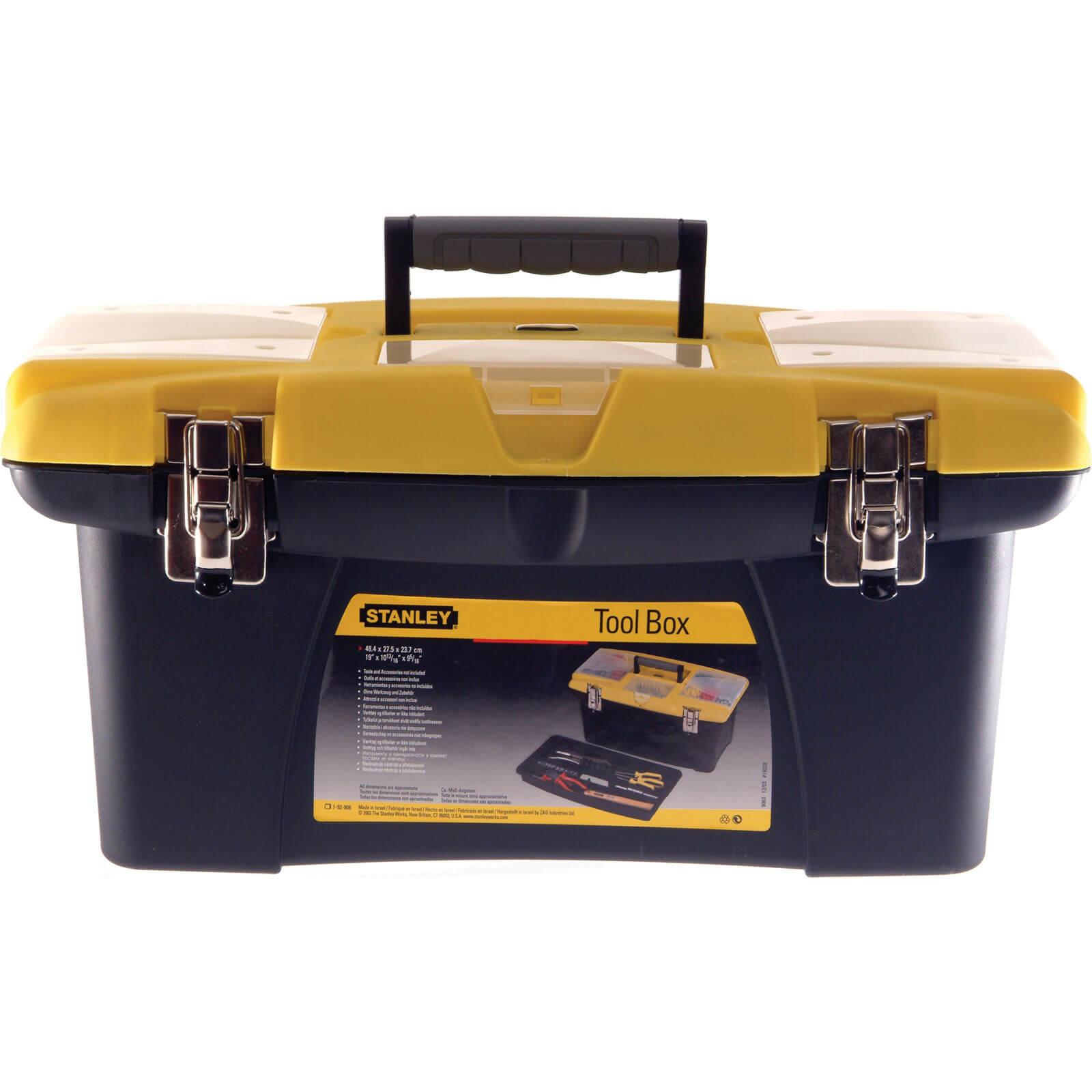 Image of Stanley Jumbo Plastic Toolbox 400mm