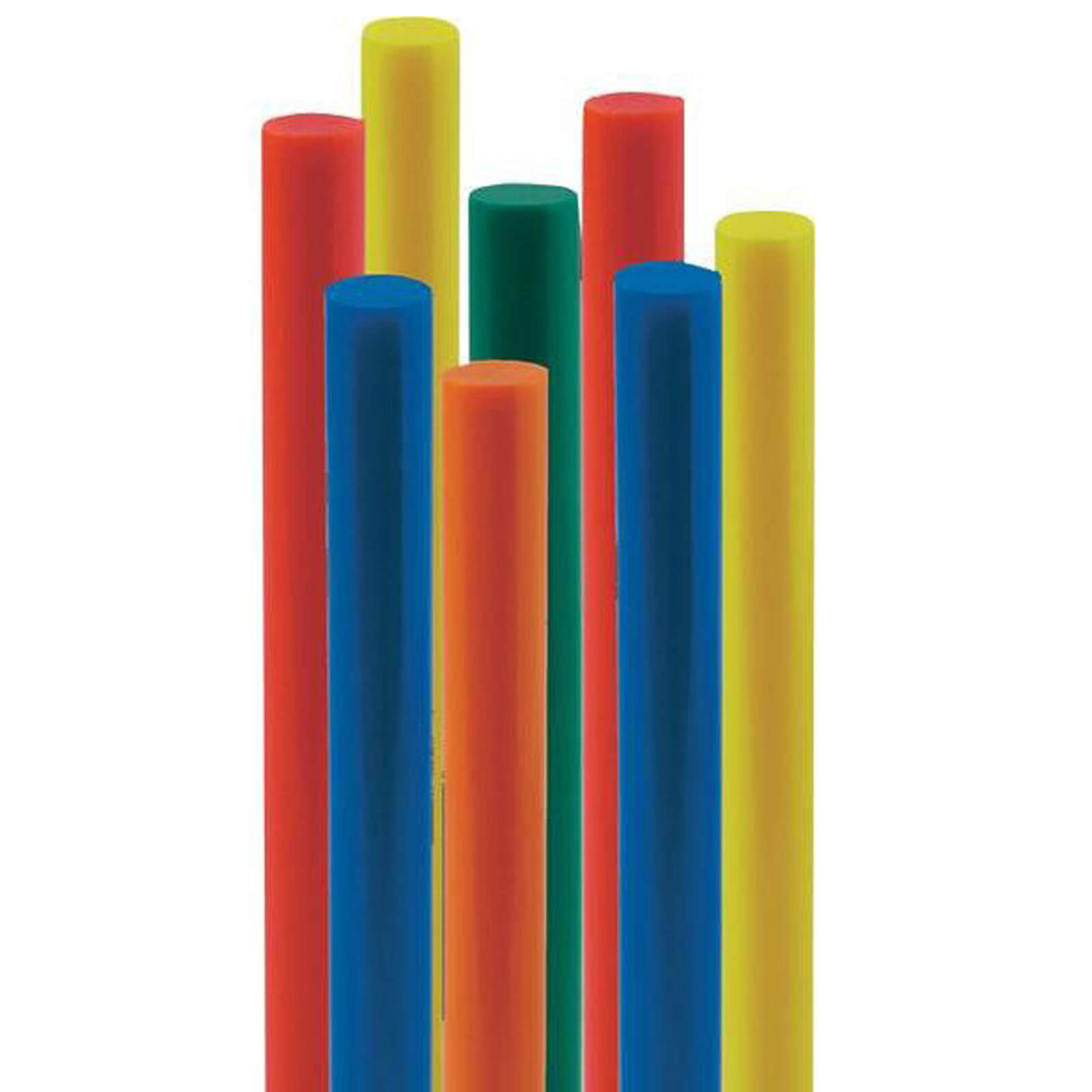 Image of Steinel Assorted Colour Glue Sticks 11mm 250mm Pack of 10