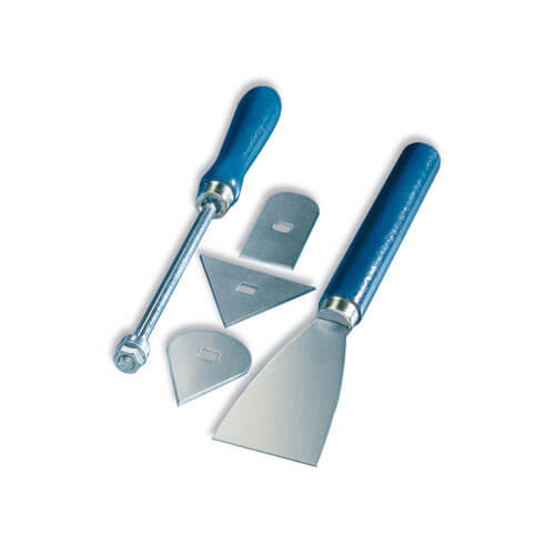 Image of Steinel 5 Piece Paint Scraper Tool Kit