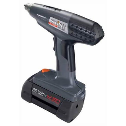 Steinel BHG 360 36v Cordless Hot Air Heat Gun 1 x 2.6ah Li-ion Charger Case