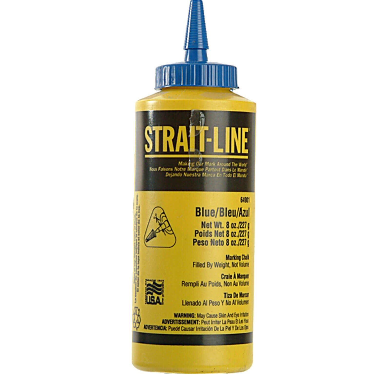 Image of StraitLine Chalk Refill Permanent Blue