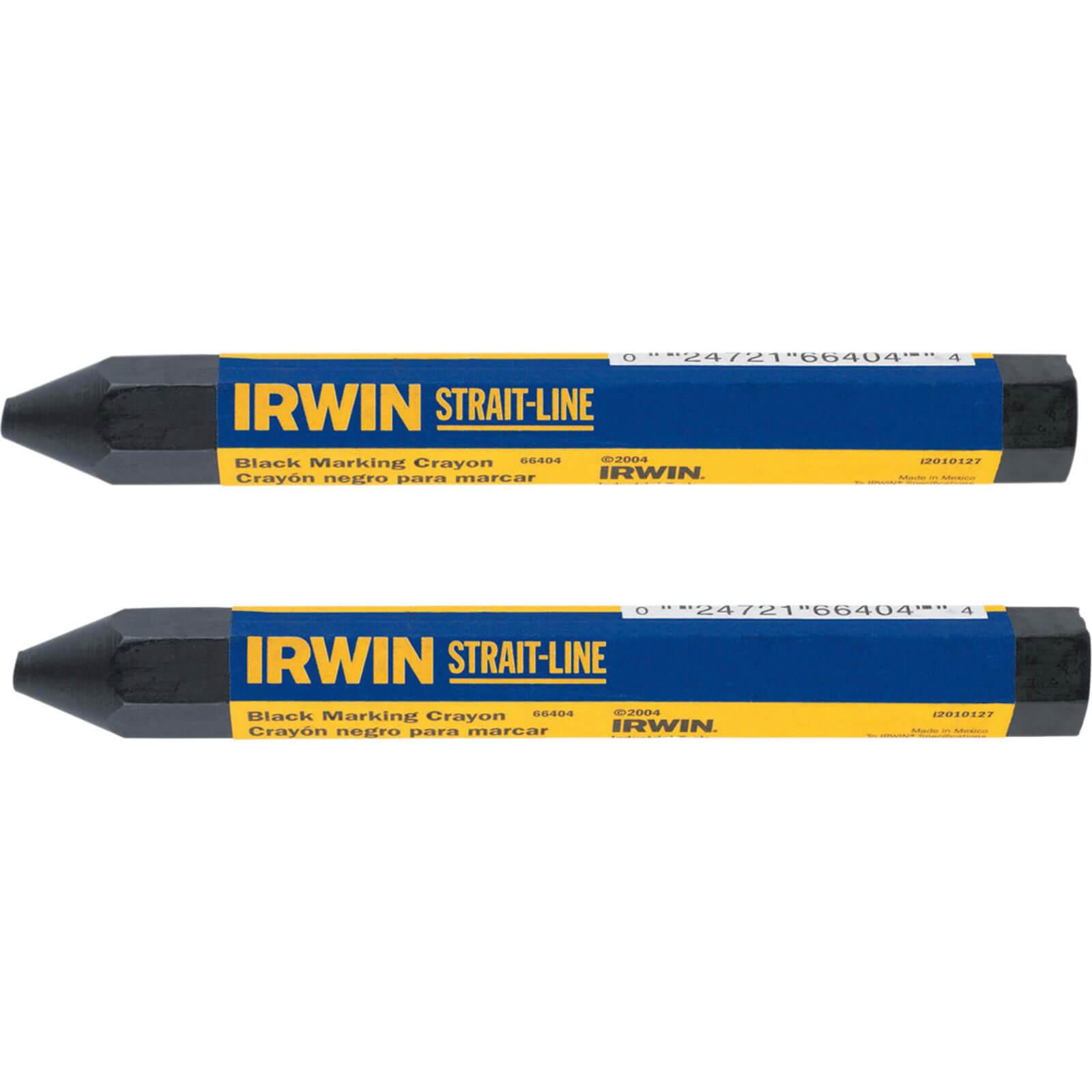 Image of Straitline Crayons Black x 2 666042