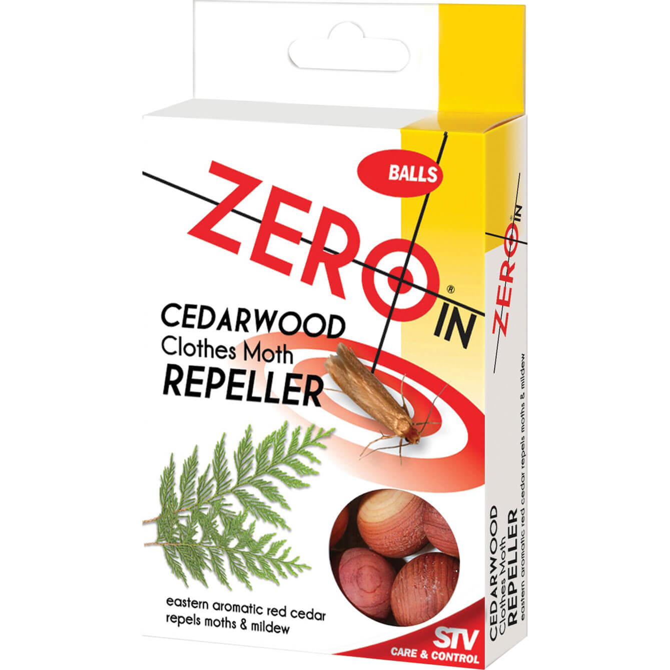 Image of STV Big Cheese Zero In Moth Repeller Cedar Balls