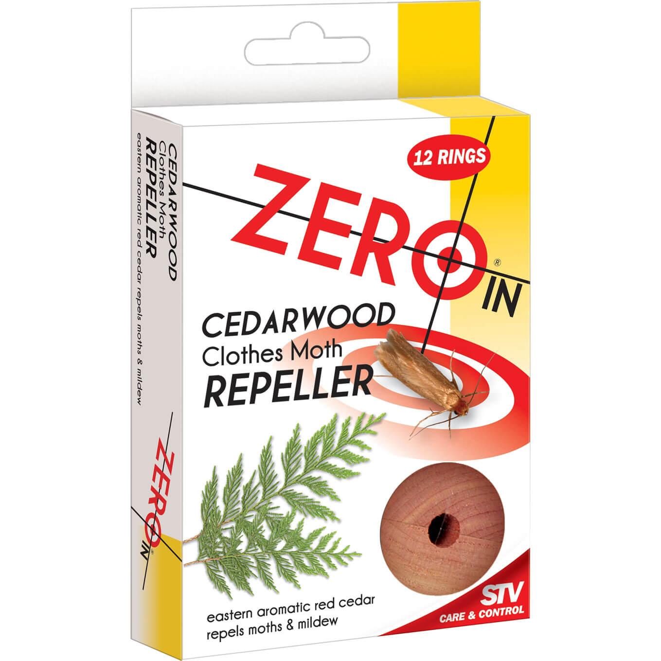Image of STV Big Cheese Zero In Moth Repeller Cedar Rings