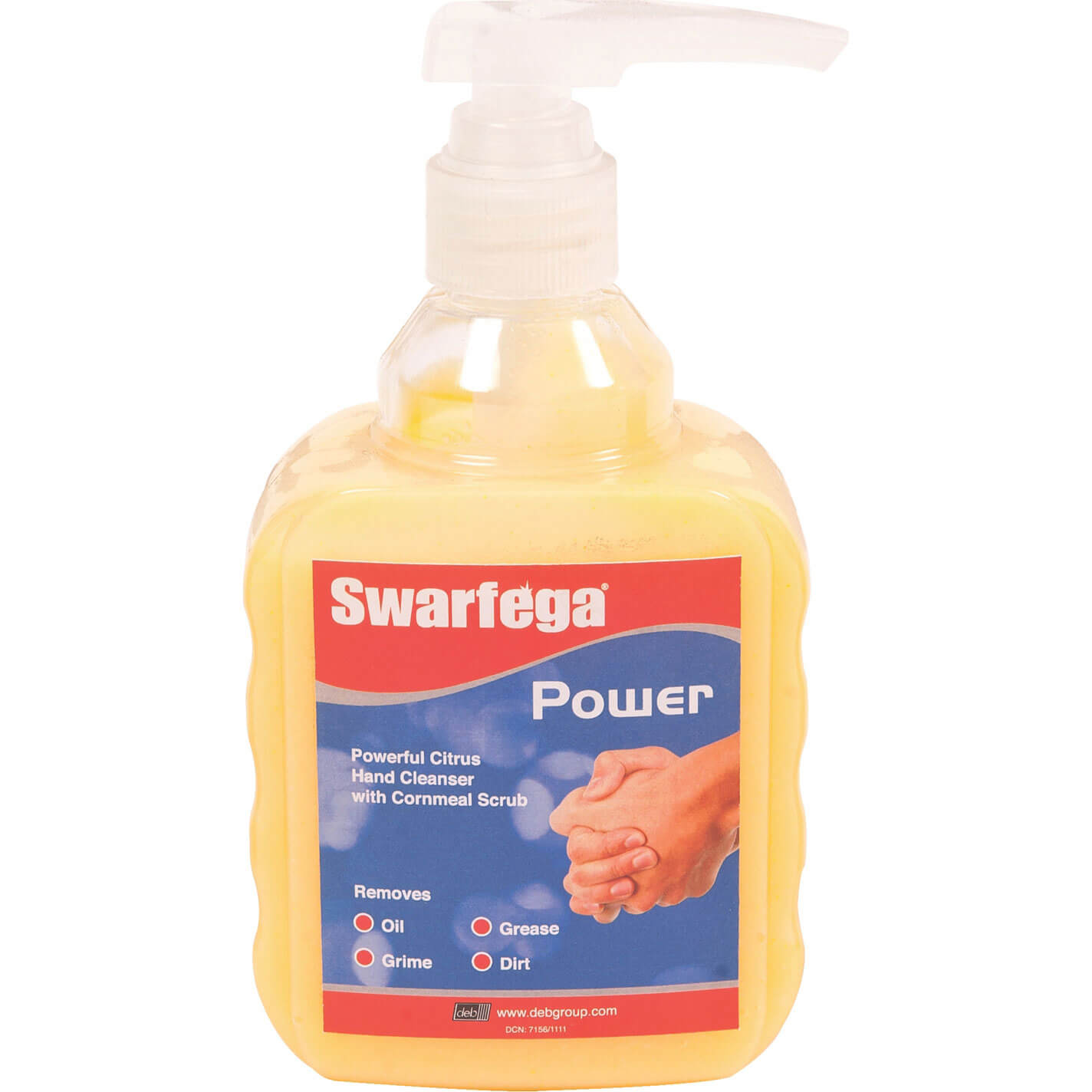 Image of Deb Swarfega Natural Power Pump Hand Cleaner 450ml