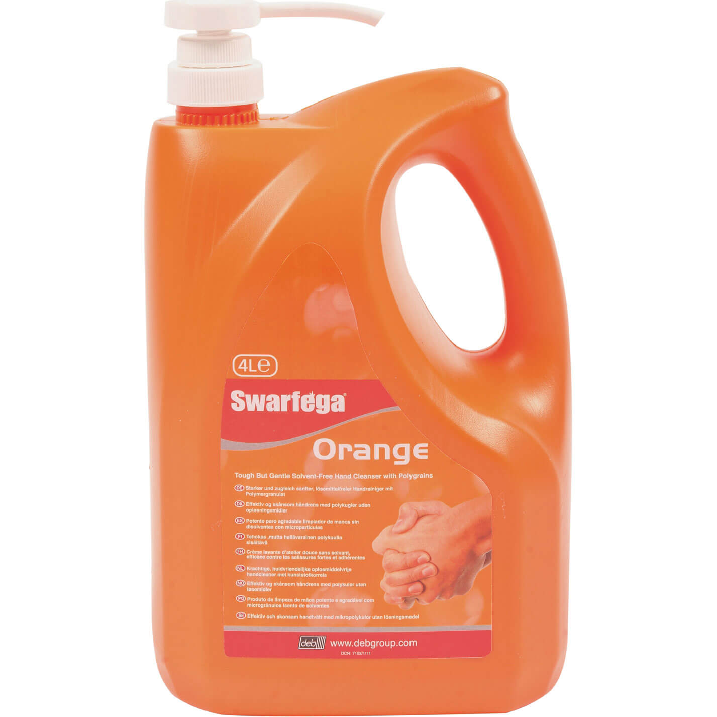 Image of Deb Swarfega Orange Hand Cleaner Cartridge 4l