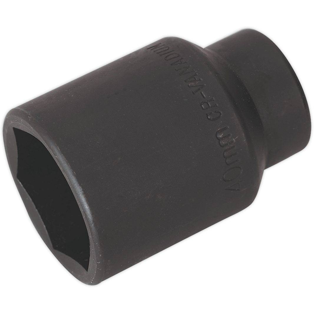 Sealey Specialised 1 2 Drive Hexagon Impact Socket Metric 1 2 40mm