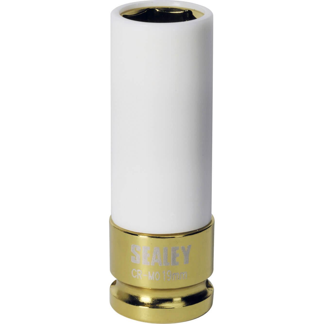 Sealey 12 Drive Impact Socket for Alloy Wheels Metric 12 19mm