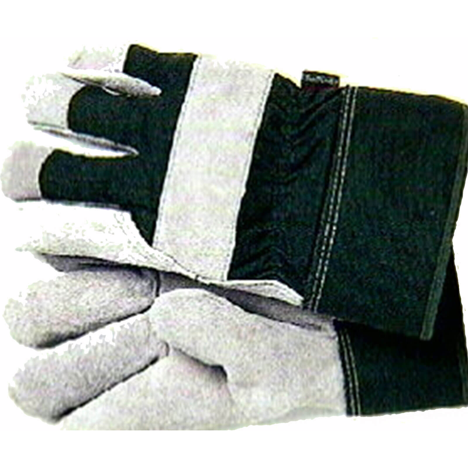 Town and Country Thermal Lined Leather Palm Green Glove One Size