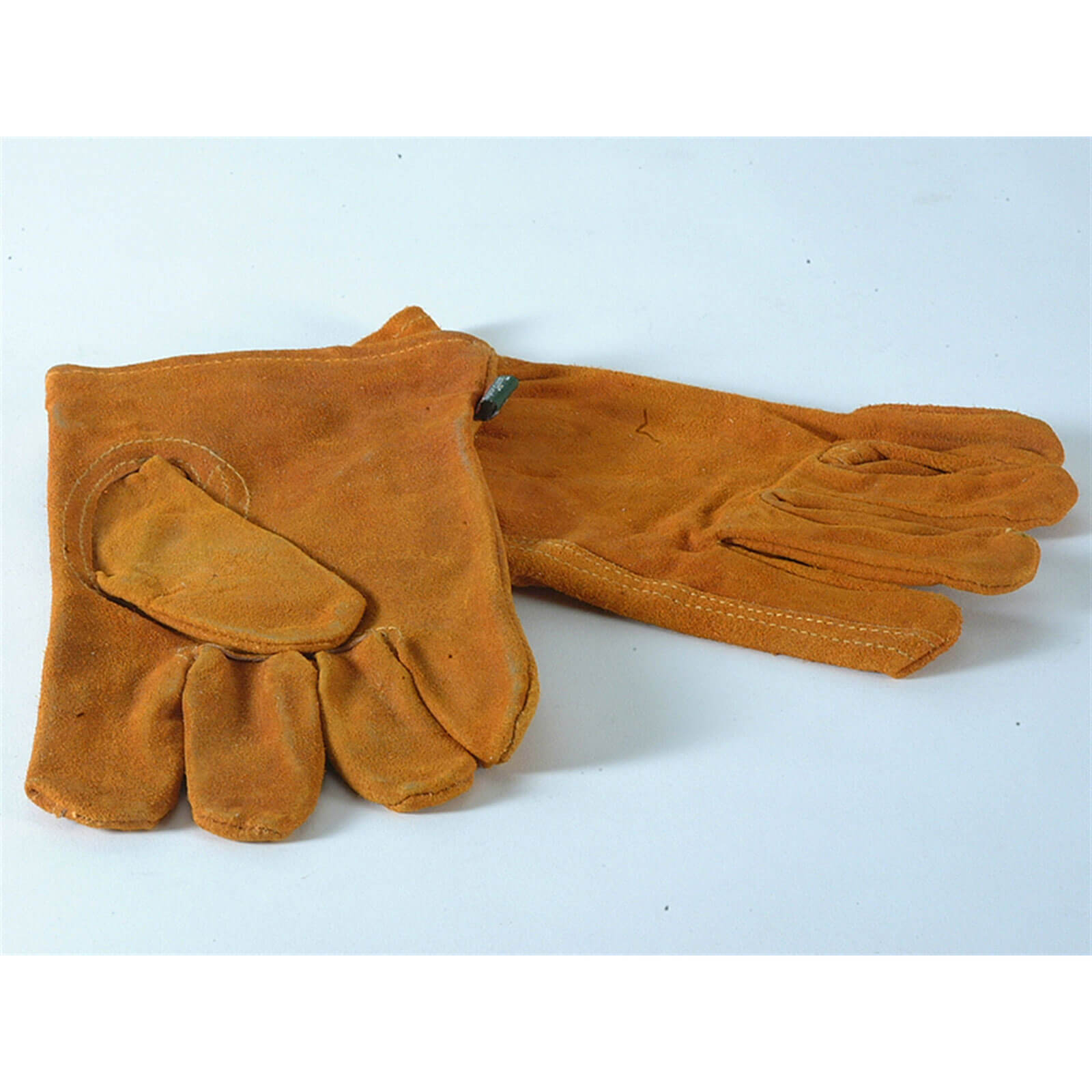 Town & Country Mens Suede Leather Gloves L