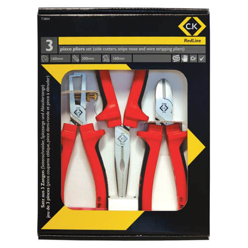 Image of CK RedLine 3 Piece Plier Set
