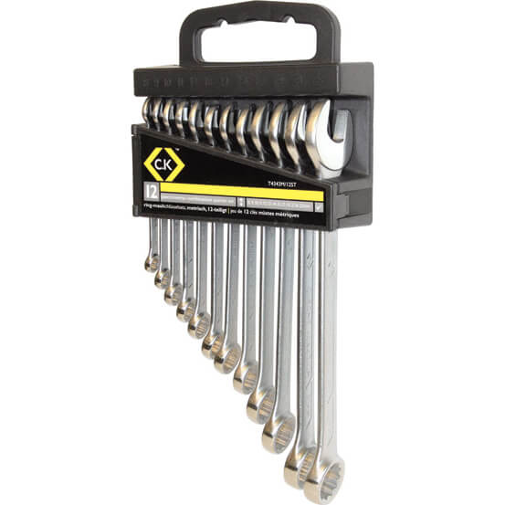 Image of CK 12 Piece Combination Spanner Set Metric