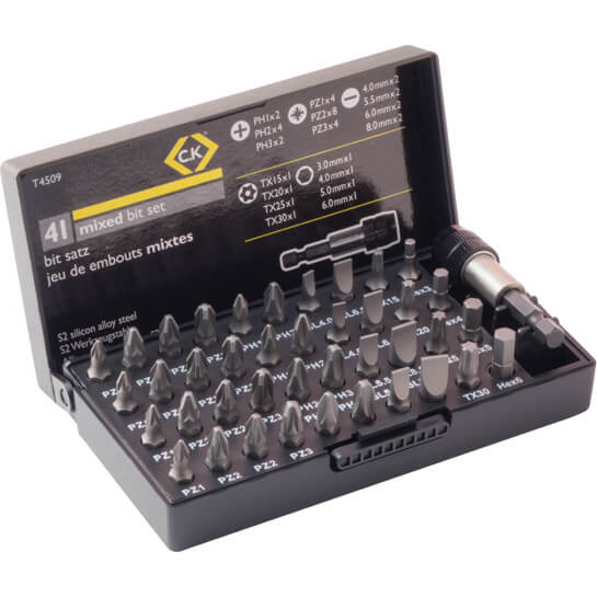 Image of CK 41 Piece Screwdriver Bit Set
