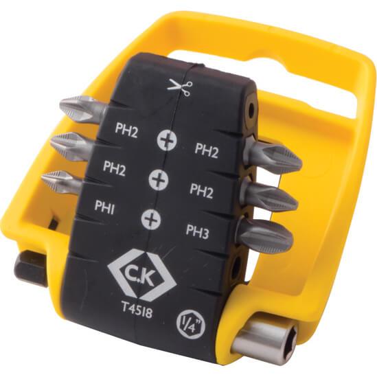 Image of CK 7 Piece Phillips Screwdriver Bit Set