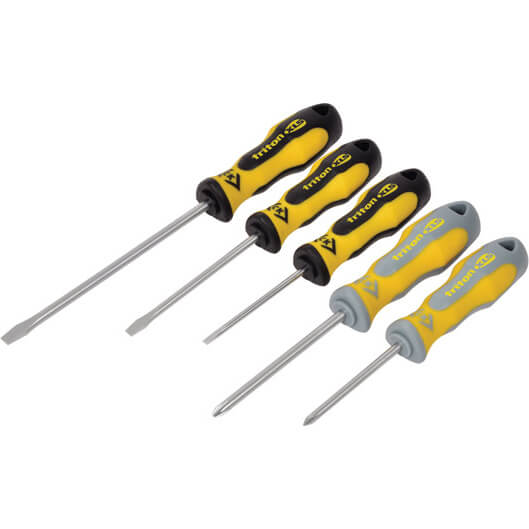 Click to view product details and reviews for Ck Triton 5 Piece Xls Screwdriver Set.