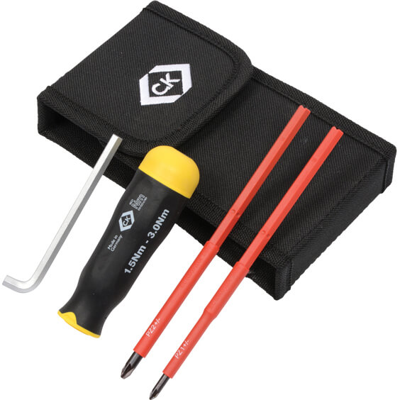 Image of CK 3 Piece VDE Insulated Torque Screwdriver Set