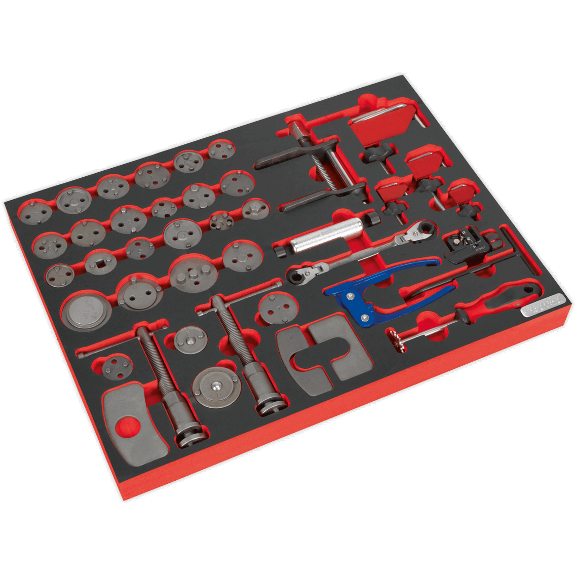 Image of Sealey 42 Piece Brake Service Modeule Tool Kit for AP24 Tool Chests