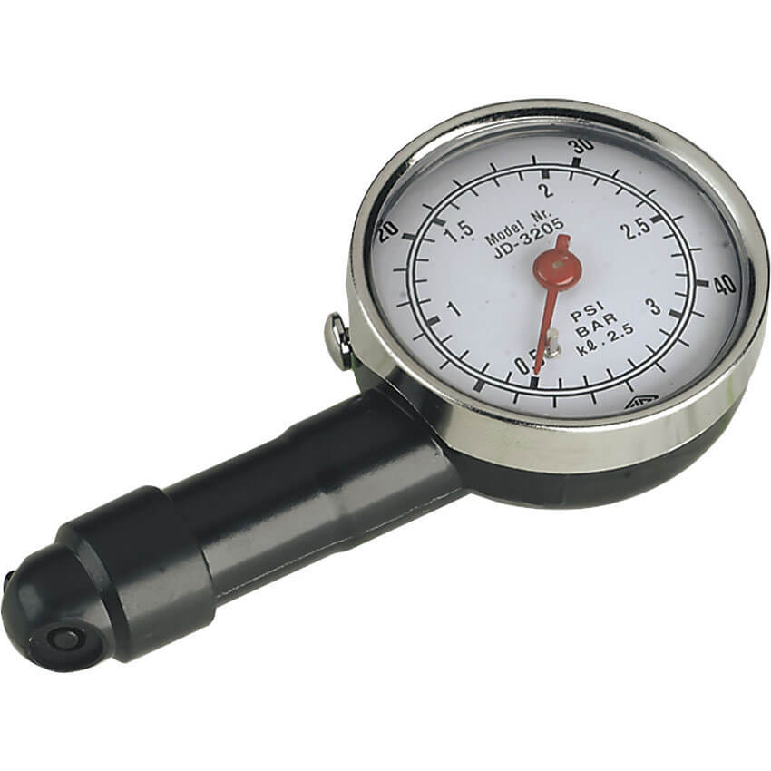 Sealey GSTUV Approved Dial Type Tyre Pressure Gauge