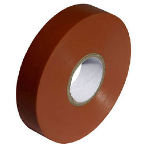 Sirius Electrians PVC Insulation Tape Brown 19mm 33m