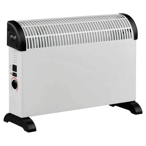 Image of Prem I Air Electric Convector Heater Thermostat & Turbo Fan 2000w