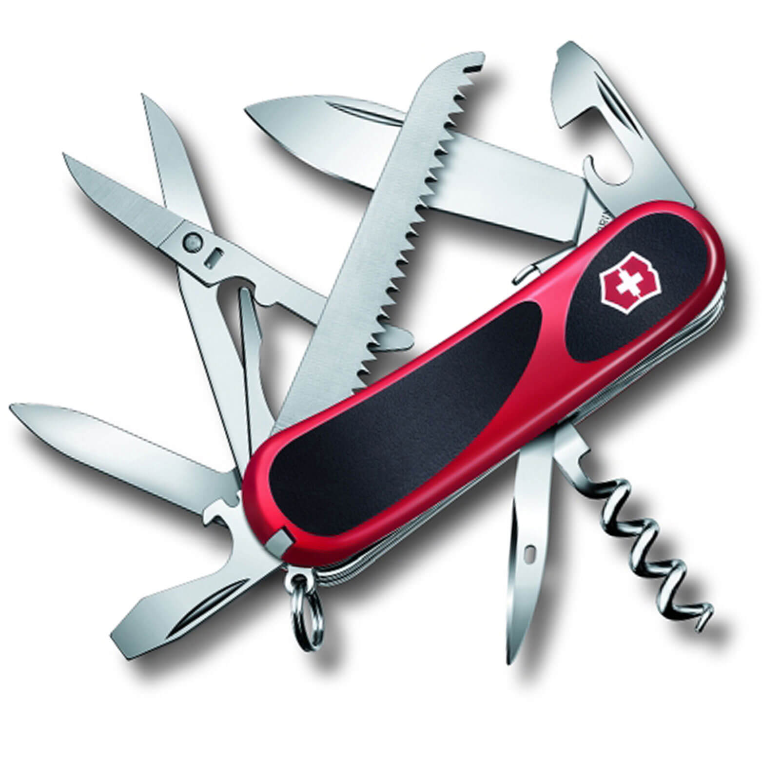 Image of Victorinox Evolution S17 Swiss Army Knife Red / Black