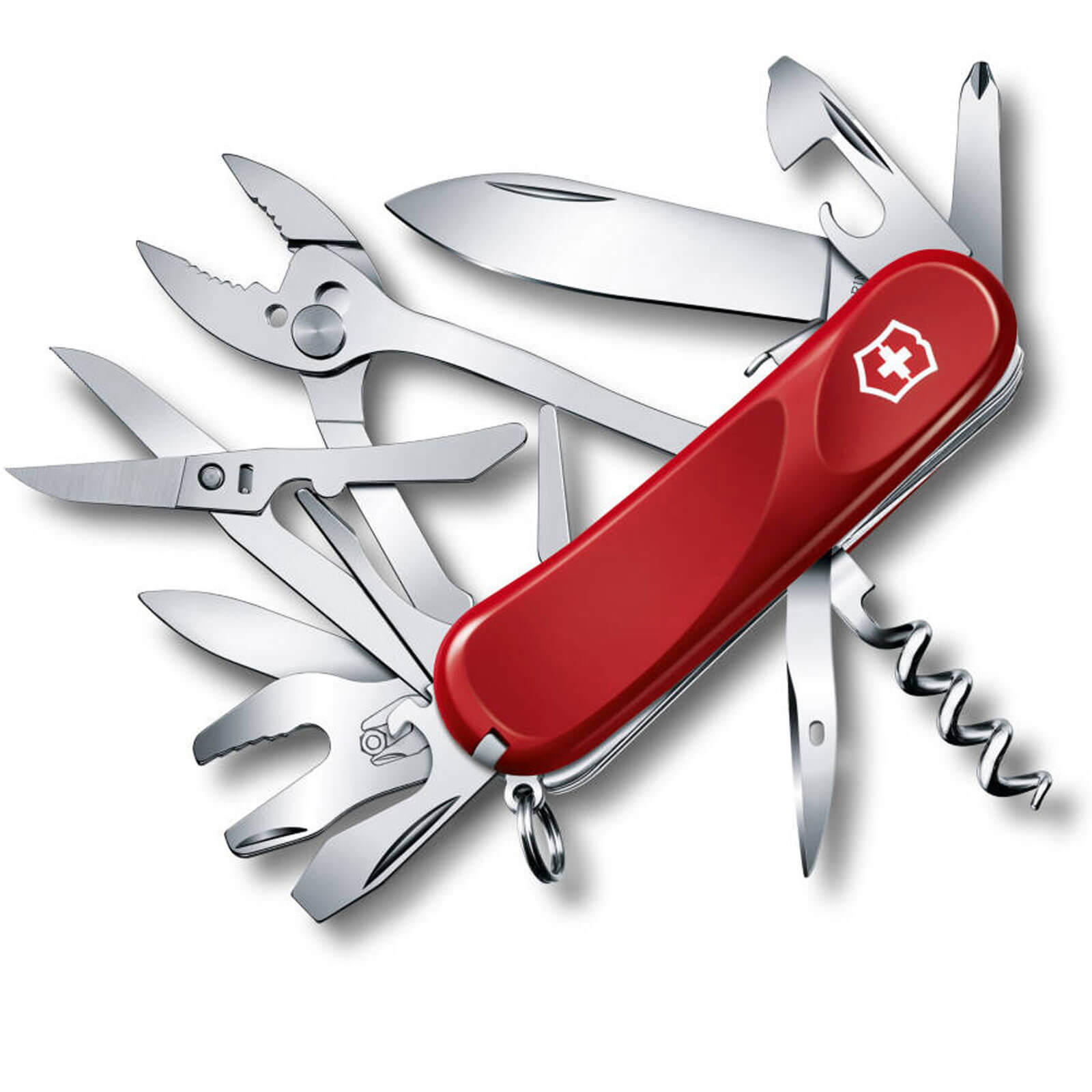 Image of Victorinox Evolution S557 Swiss Army Knife Red