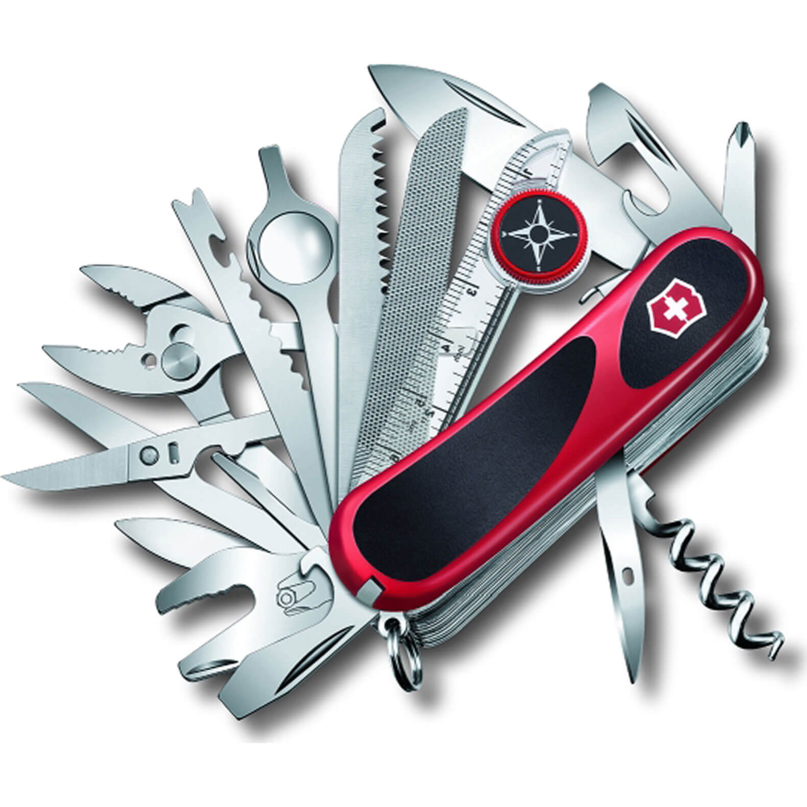 Image of Victorinox Evolution S54 Swiss Army Knife Red / Black