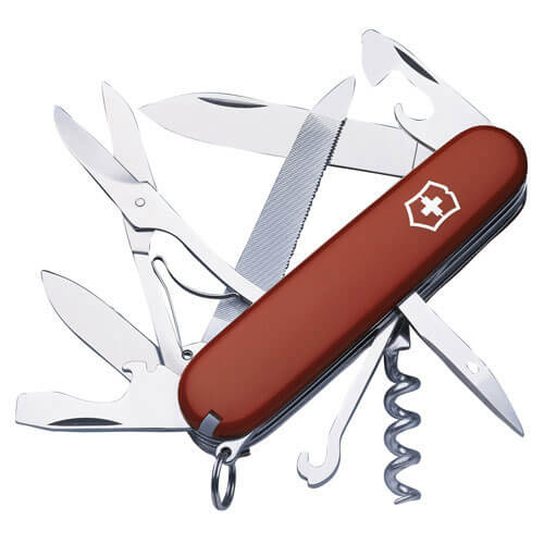 Image of Victorinox Mountaineer Swiss Army Knife Red