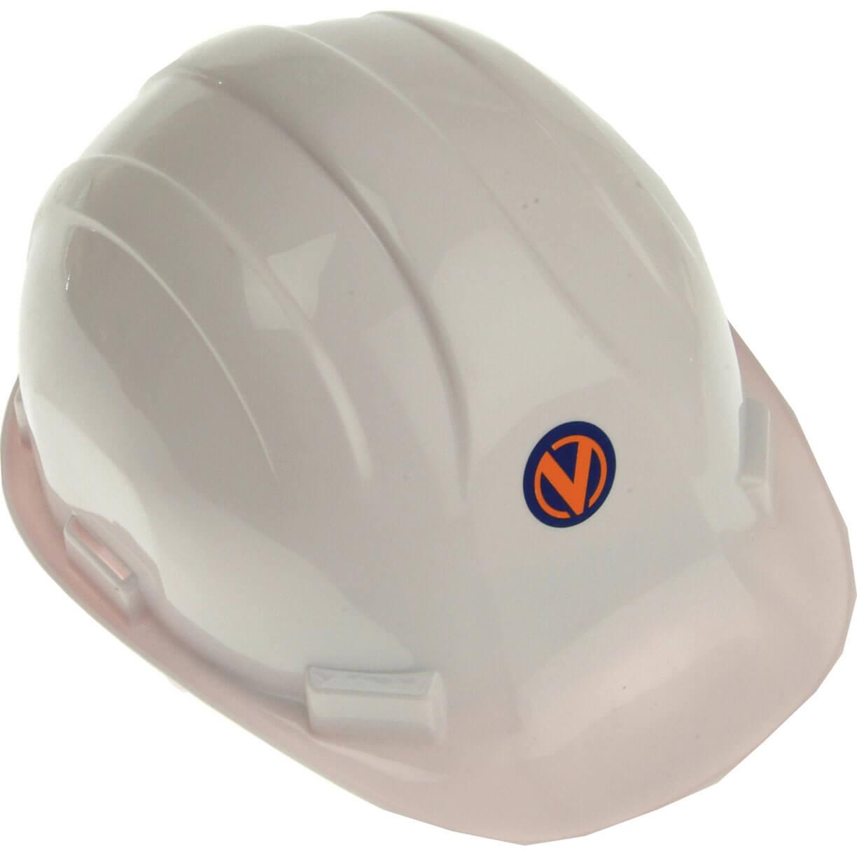 Vitrex Hard Hat Safety Helmet White