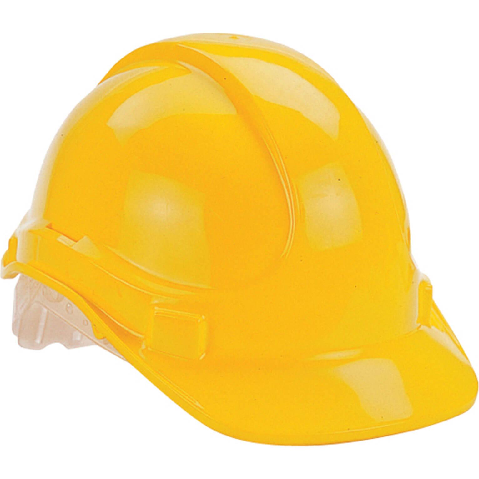Vitrex Hard Hat Safety Helmet Yellow