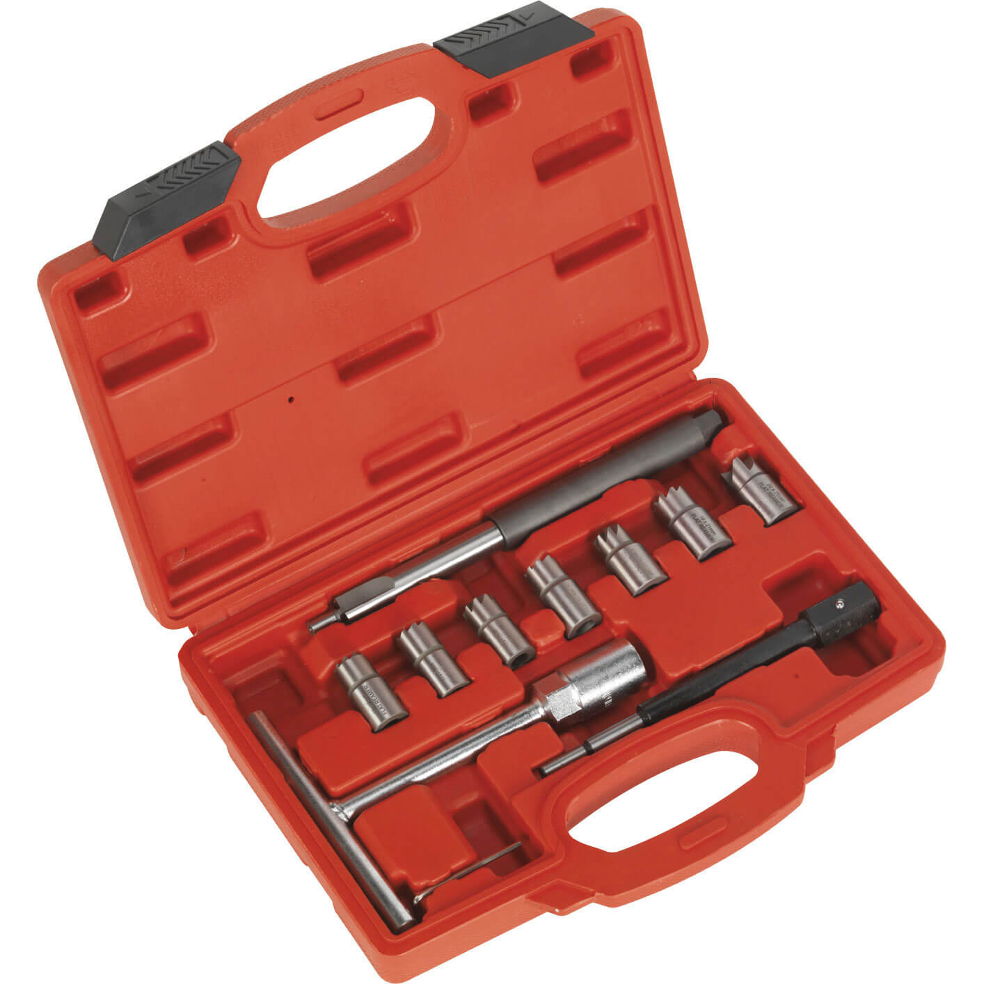 Image of Sealey 6 Piece Diesel Injector Seat Cleaner Set