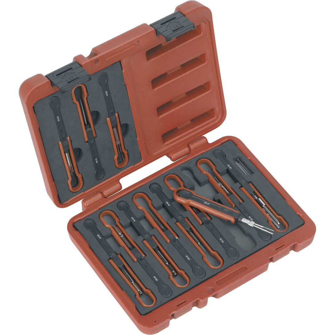 Sealey 15 Piece Universal Cable Ejection Tool Kit
