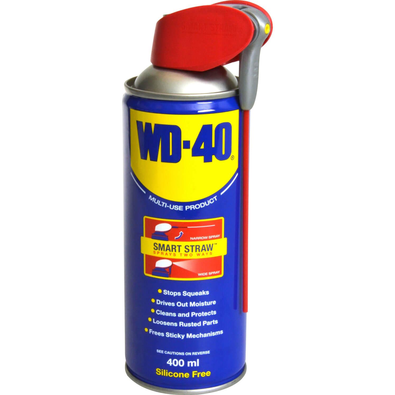 wd40 multi use aerosol 400ml with smart straw. Black Bedroom Furniture Sets. Home Design Ideas