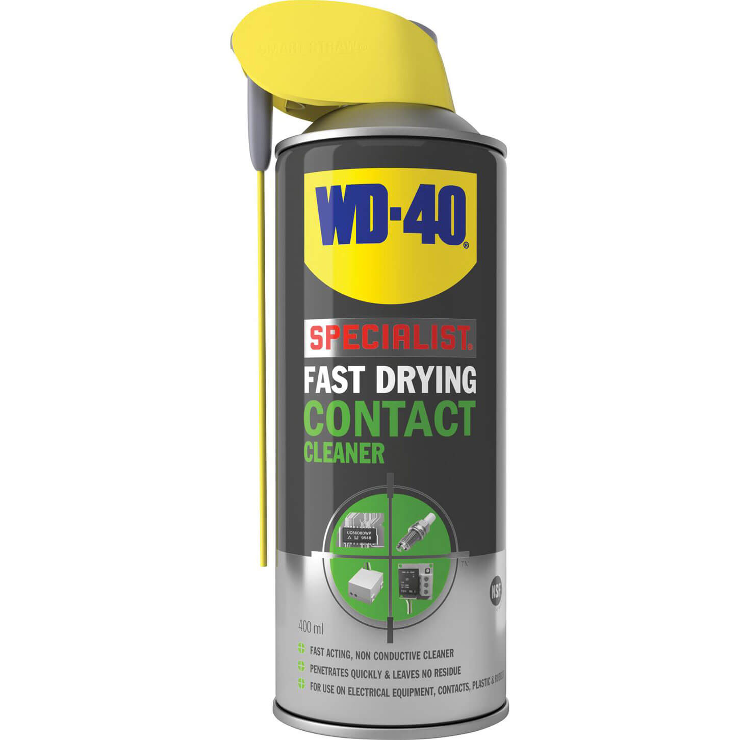 Image of WD40 Specialist Contact Cleaner Aerosol Spray 400ml