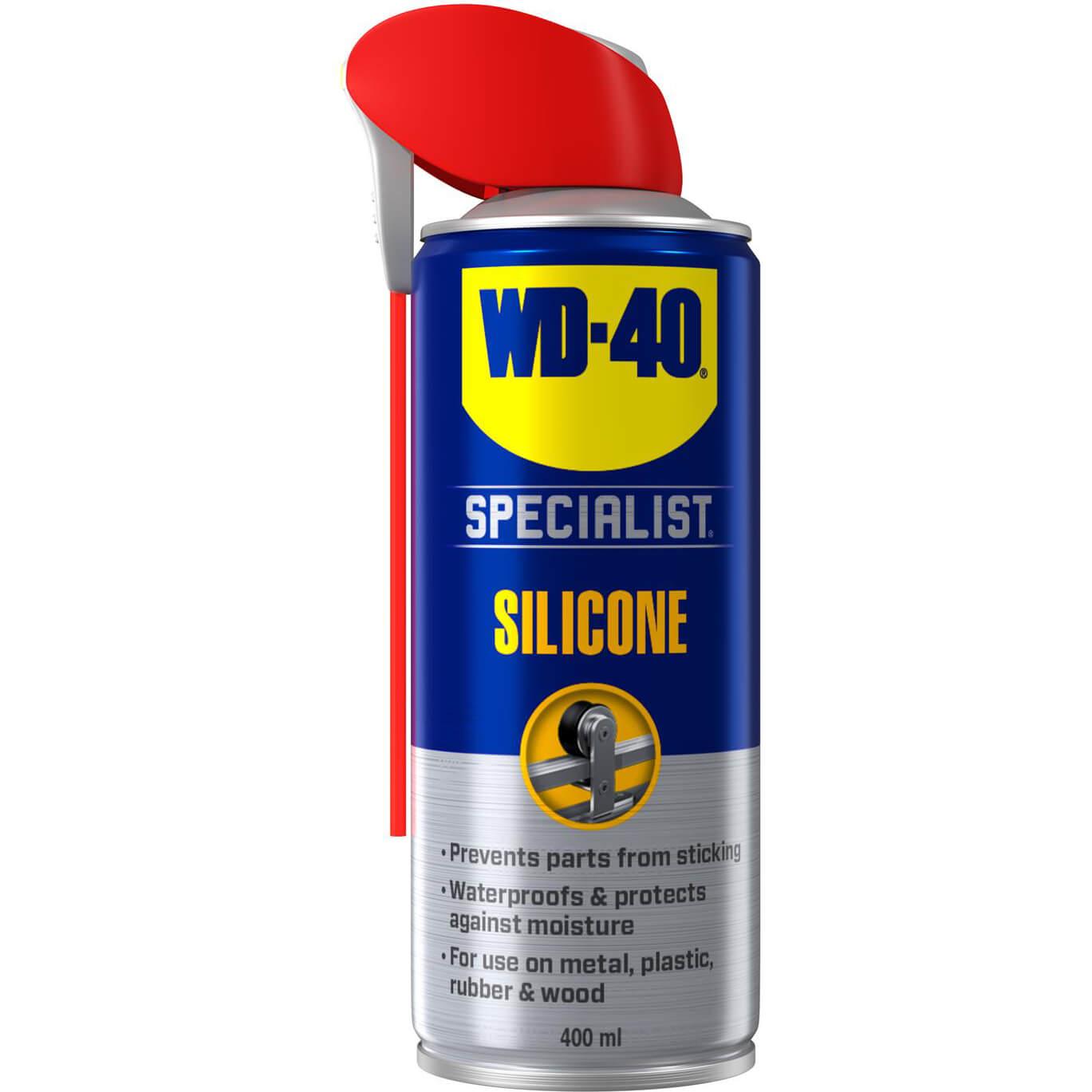 Image of WD40 Specialist Silicone Lubricant Aerosol Spray 400ml